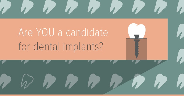 Dental implants from our Wichita dentists are an ideal solution for missing teeth.