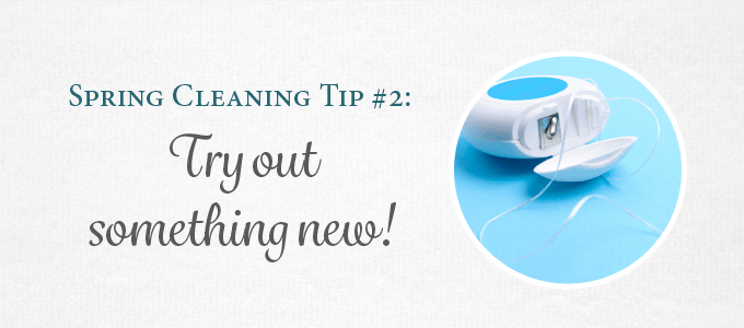 Change up your dental health routine by trying a new type of floss.