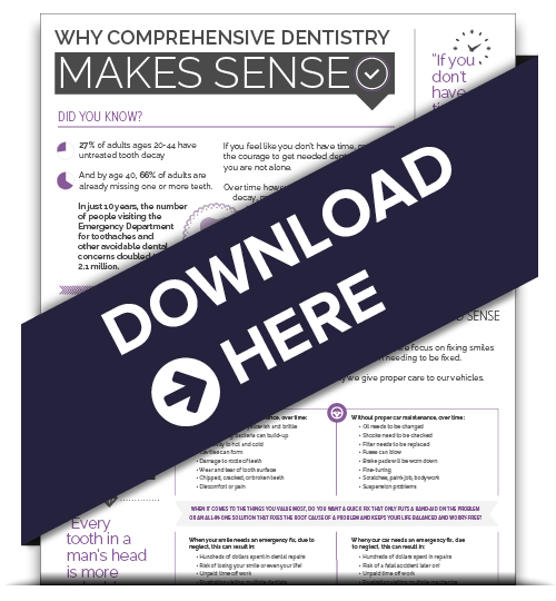 comprehensive dentistry infographic download